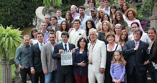 telenovela de azteca secretos de familia dio su claquetazo oficial de ...
