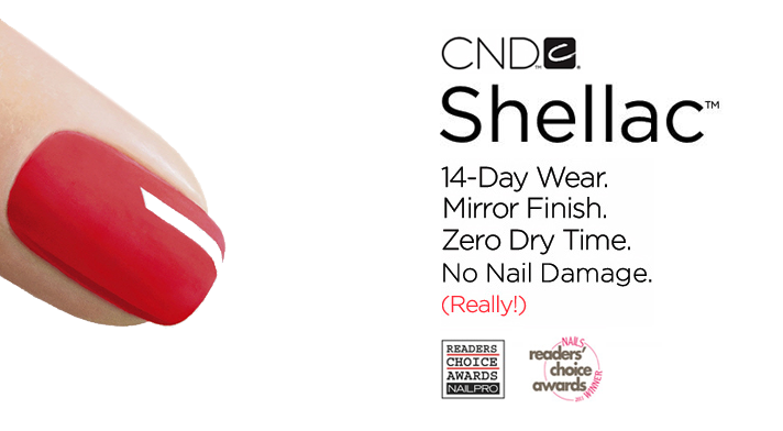 Introducing CND Shellac ™ Hybrid Nail Colour, a revolutionary