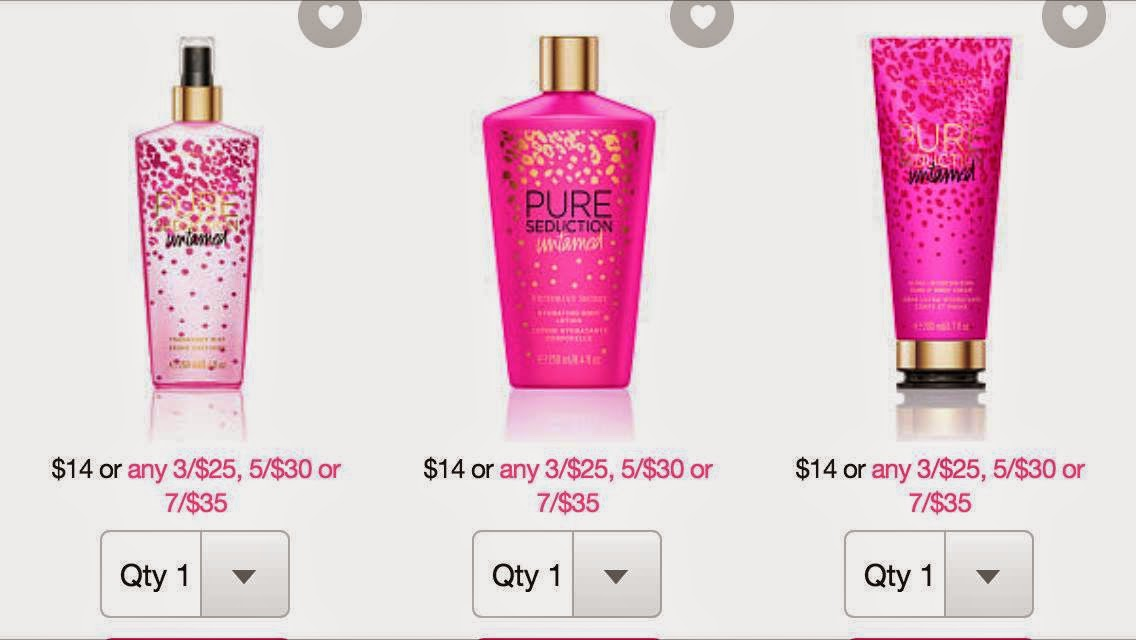 Victoria's Secret | New  Untamed Fragrance Favorites | 2014