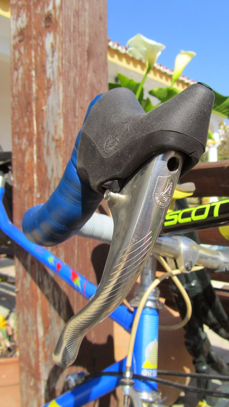 bicicleta orbea contrarreloj manetas campagnolo record