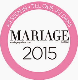 TEL QUE VU DANS MARIAGE QUÉBEC