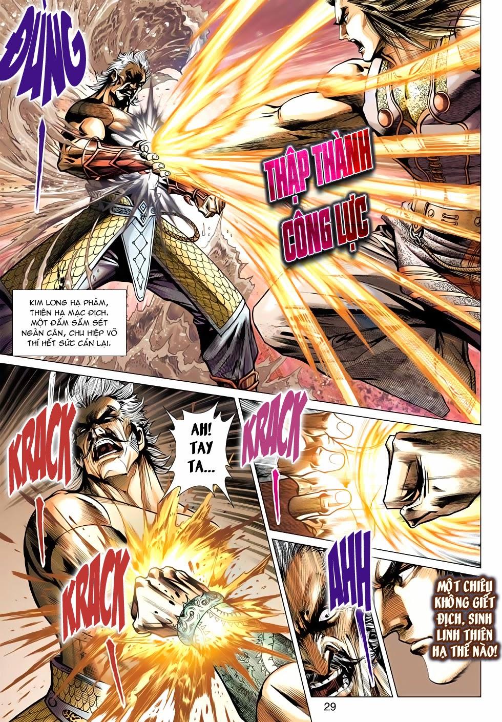 Thần Châu Kỳ Hiệp chap 32 – End Trang 29 - Mangak.info
