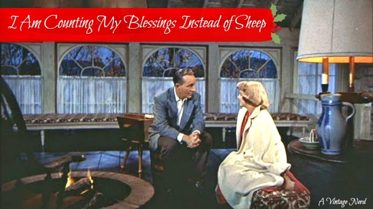 A Vintage Nerd, Vintage Blog, Old Hollywood Blog, Classic Film Blog, White Christmas