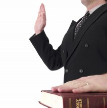 Image result for raising the right hand in swearing an oath