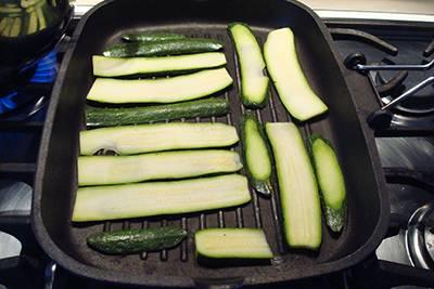 Strudel prosciutto scamorza e zucchine 2