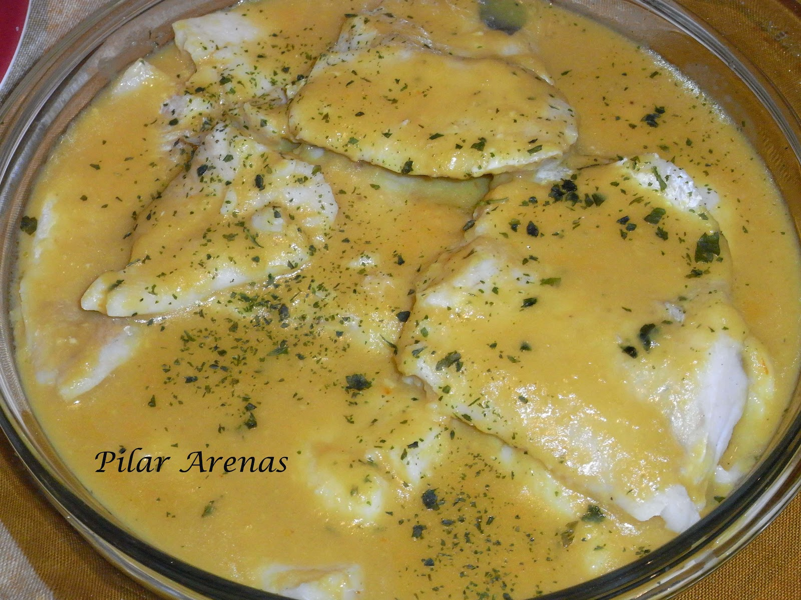 Pescado en salsa receta review ebooks - Cocina facil pilar ...