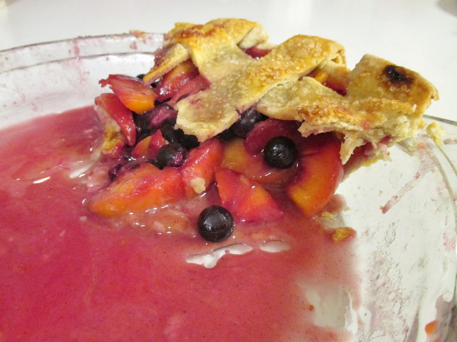 ... , Pies, & Preschool Pizzazz: Friday Pie-Day: Peach Blueberry Pie