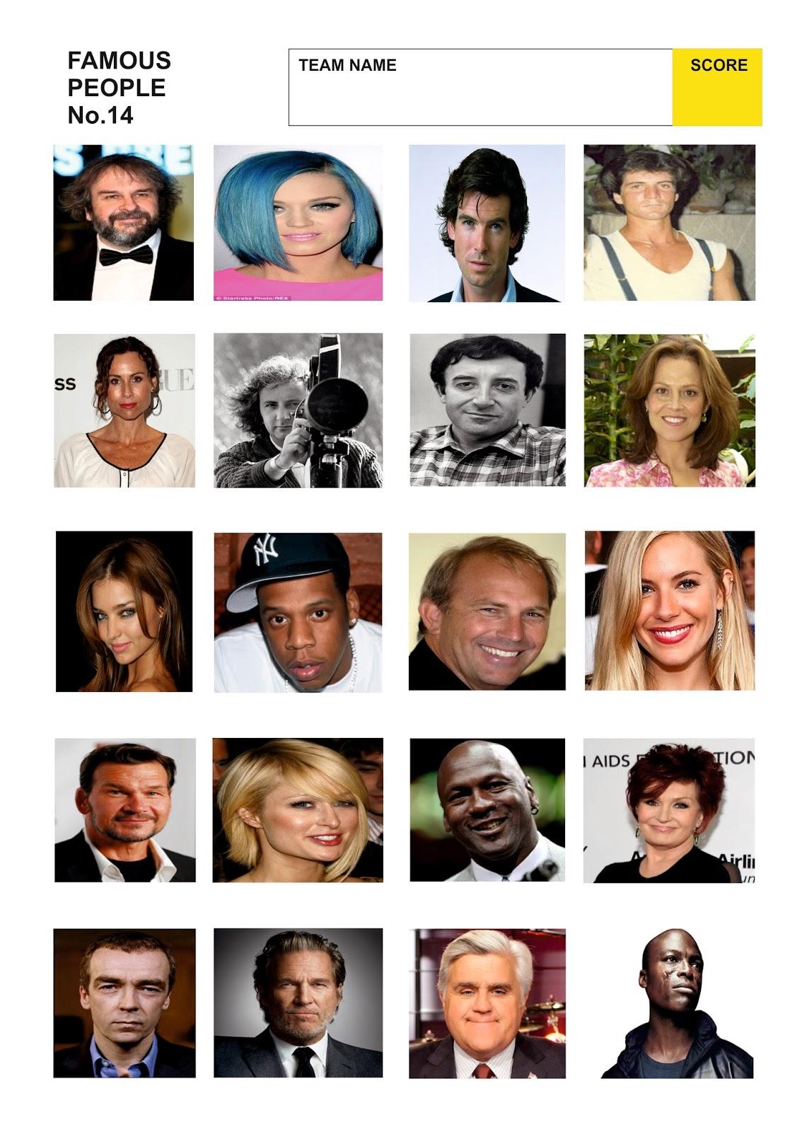 Celebrity trivia quiz 2019