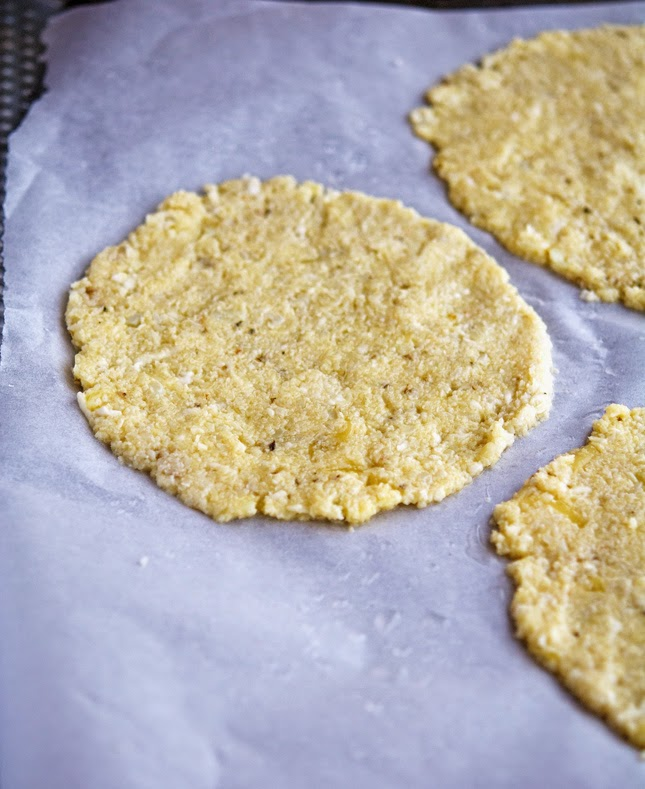 Making Cauliflower Crust Calzone