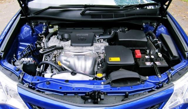 2015 Toyota Camry Atara S Hybrid Review Engine