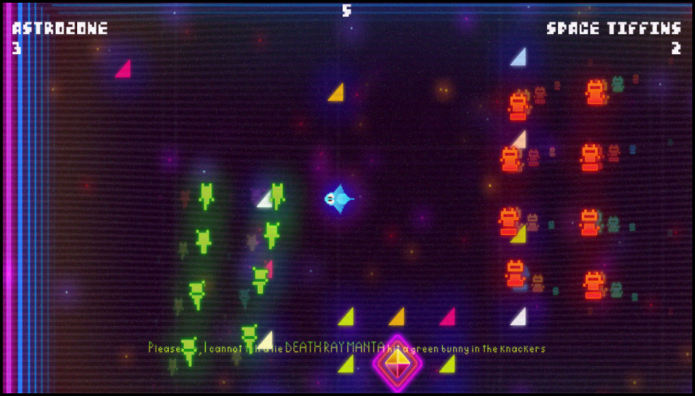 Death Ray Manta Zone screenshot