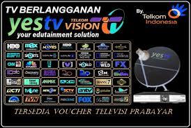 Daftar Harga Voucher TV Prabayar Termurah Wali Reload Pulsa