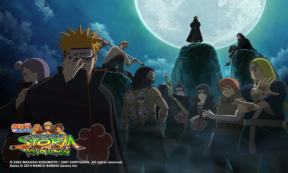 Naruto Storm Revolution Origins of Akatsuki Anime