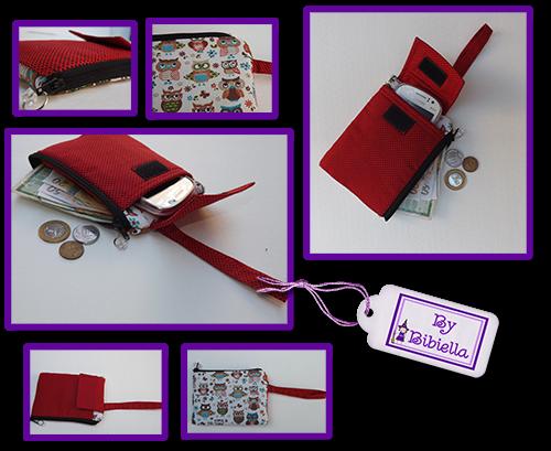 Carteira Porta celular - By Bibiella