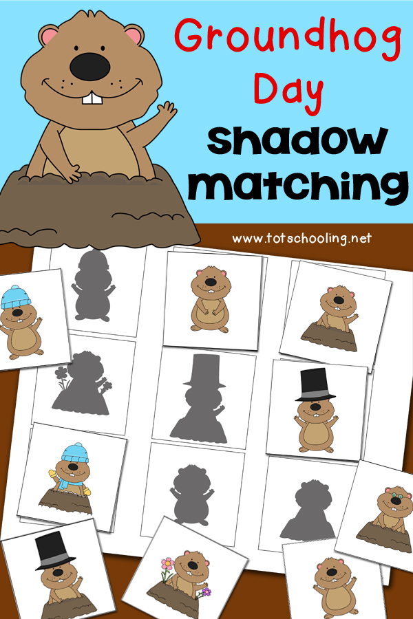 Zany image pertaining to free printable groundhog day worksheets