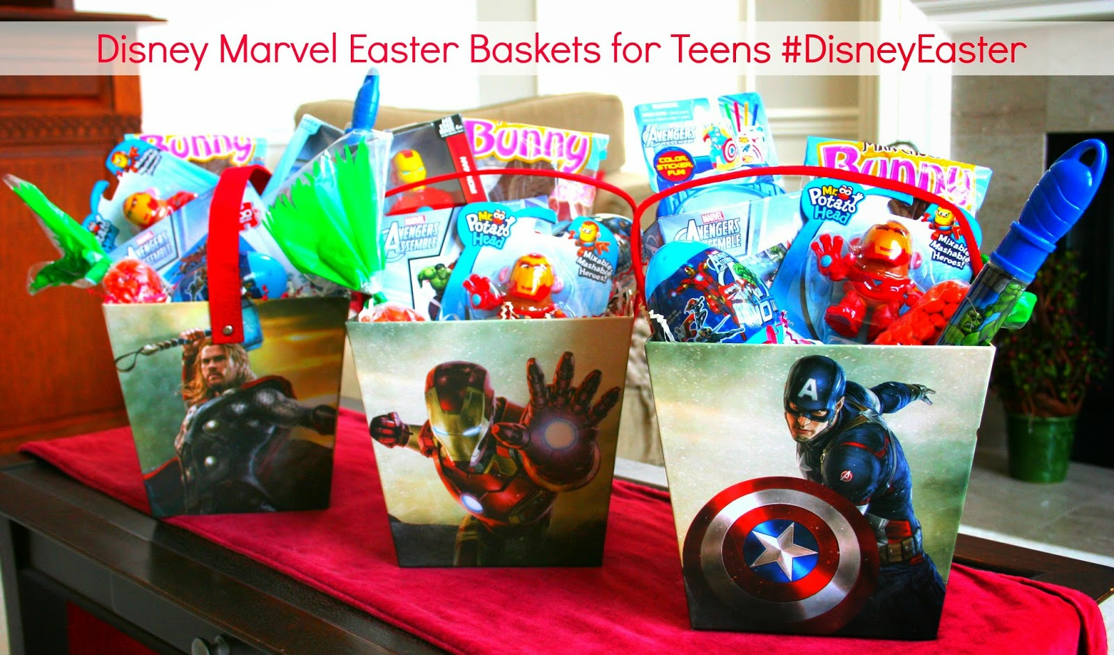 Marvel avengers disneyeaster baskets for teens continuing our an error occurred negle Image collections