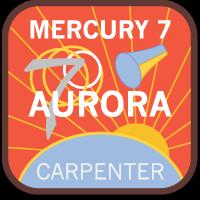 Insignia conceptual de Mercury 7