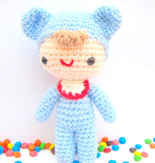 Free Amigurumi Patterns For Babies : 2000 Free Amigurumi Patterns: Free amigurumi pattern baby love