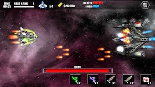 Screenshots of the Celestial assault for Android tablet, phone.