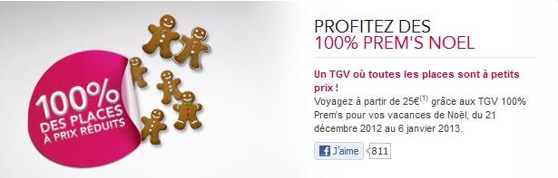 Offre TGV 100% Prem's : vos billets de train à petits prix