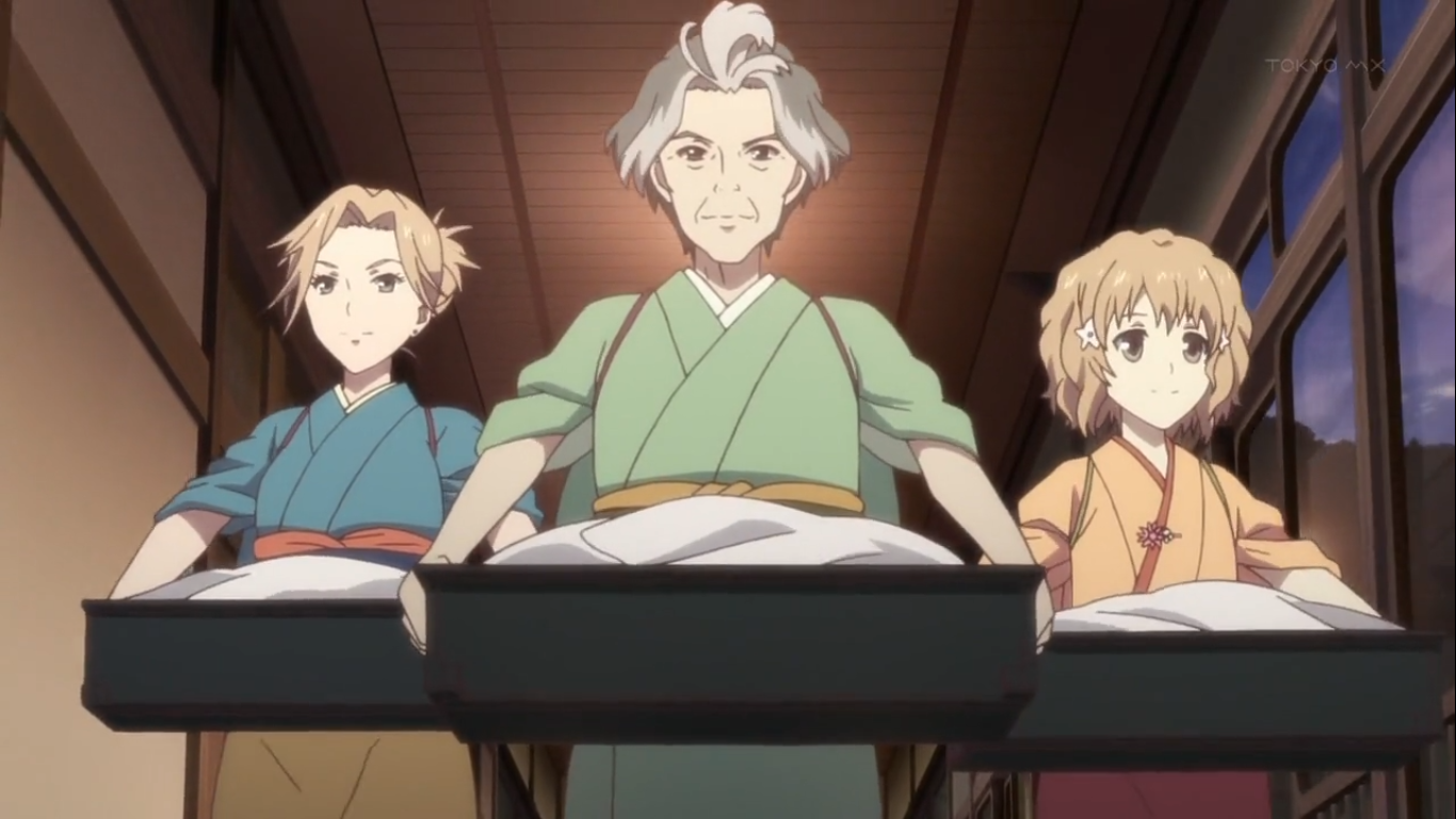 Anime Dengan Rating Bagus Hanasaku Iroha Review Irrashaimase