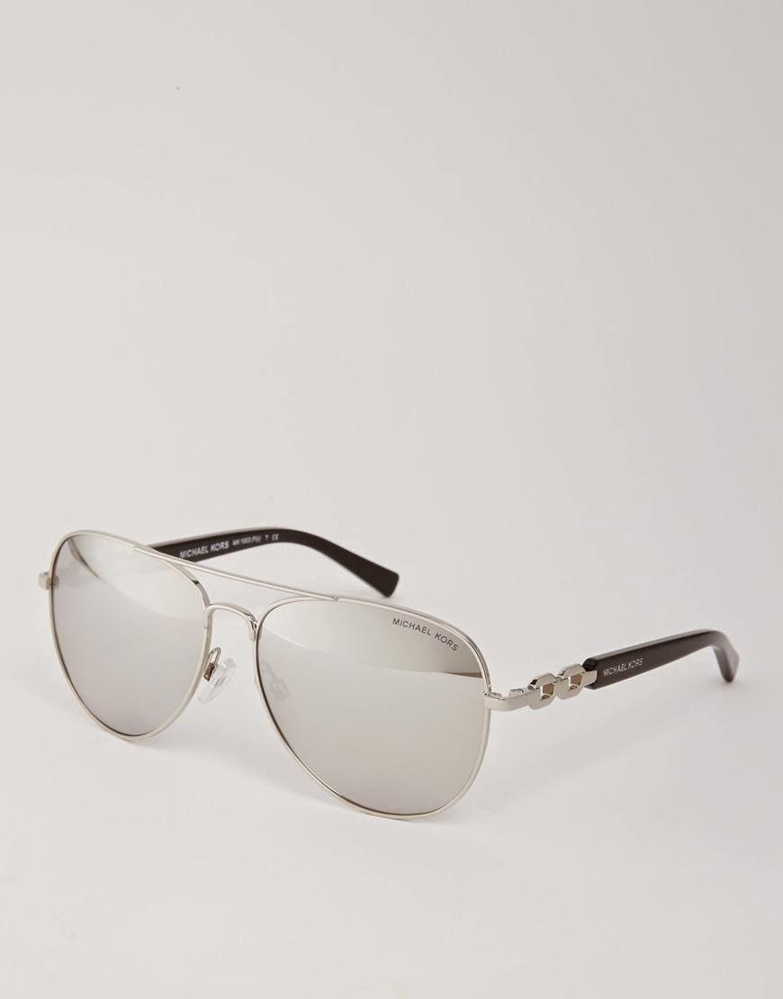 gafas de sol de espejo plata