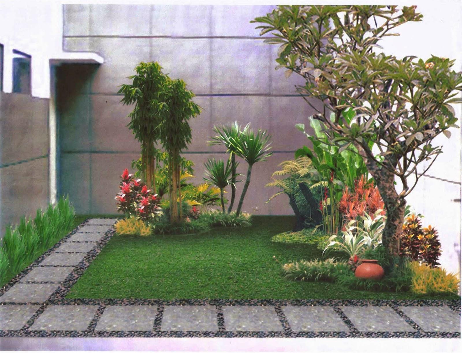 Model Desain Taman Rumah Minimalis yang Indah