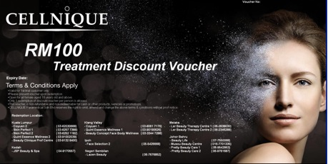 CELLNIQUE voucher