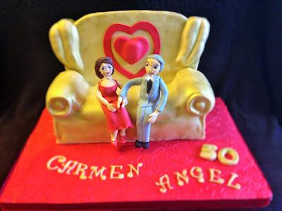 tarta; bodas de oro; fondant; casados; boda; oro; tarta fondant bodas de oro; cincuenta