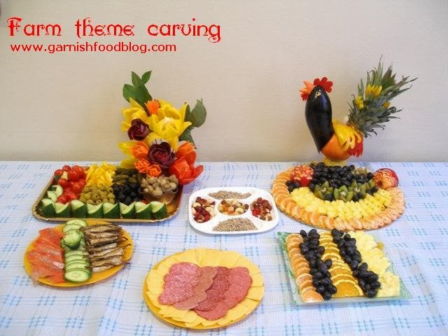 farm theme party in fruits