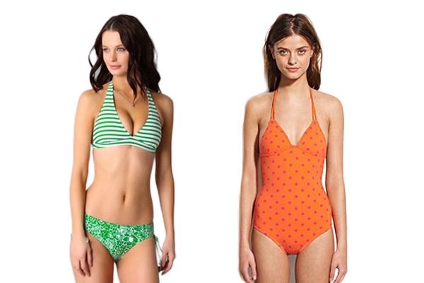 floral, stripes + polka dot swimwear