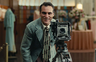 Joaquin Phoenix photographing in the Master