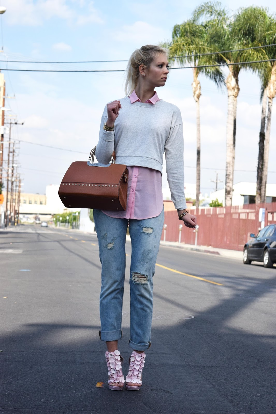 Jeffrey Campbell heels, jeffrey campbell, jeans, levis, floral heels, sweater