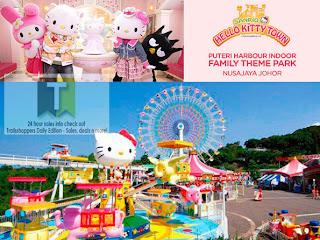 Hello Kitty Town Malaysia Nusajaya Johor: Open 26 October 2012