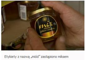 Mix miodowy Stanisława Migockiego z Oławy fot. tvp. Wrocław
