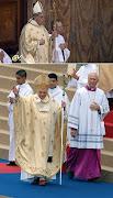 Impresiones sobre las primeras palabras y la primera Misa del Papa Francisco . catholicvs casulla franciscus pp chasuble