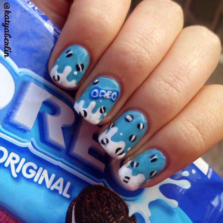 Blue Nails Trends (Three pics)...