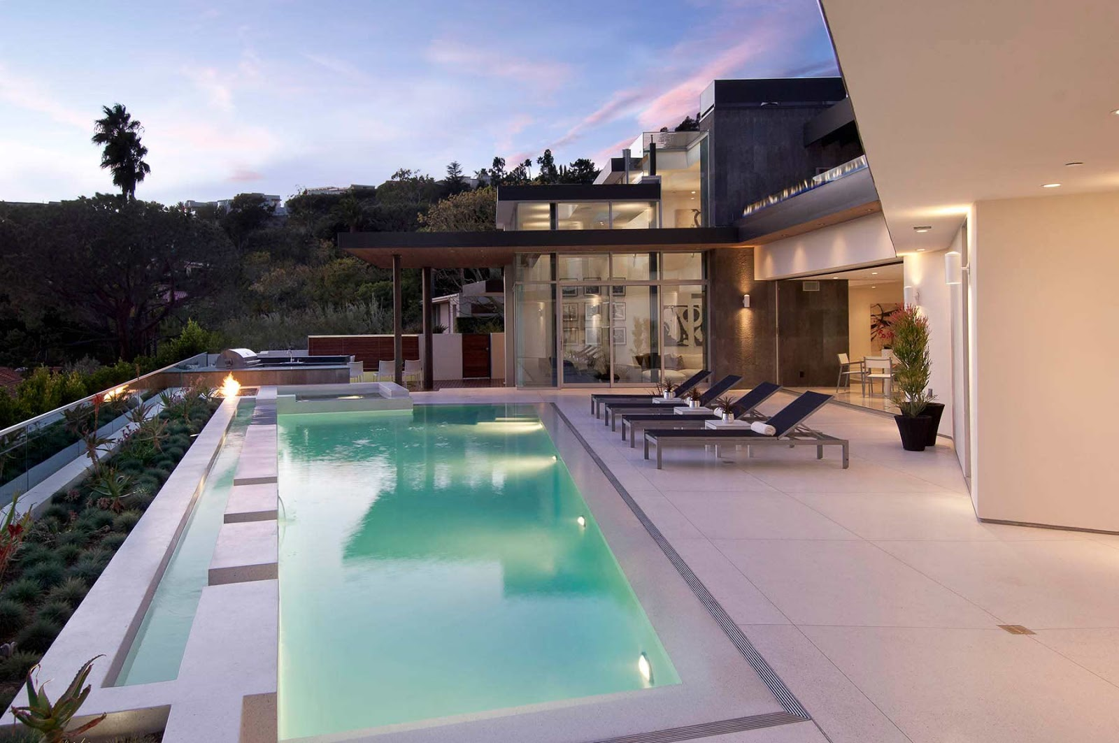 World of Architecture: Impressive Modern Home In Hollywood Hills ...