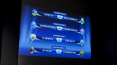 babak perempat final liga champions 2012