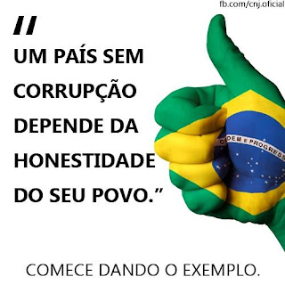 """Terê Total apoia a """"Campanha País sem Corrupção"""""""