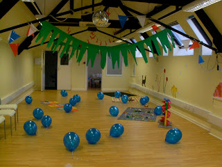 Octonauts, party decorations