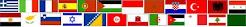 Banderas en el Mediterráneo