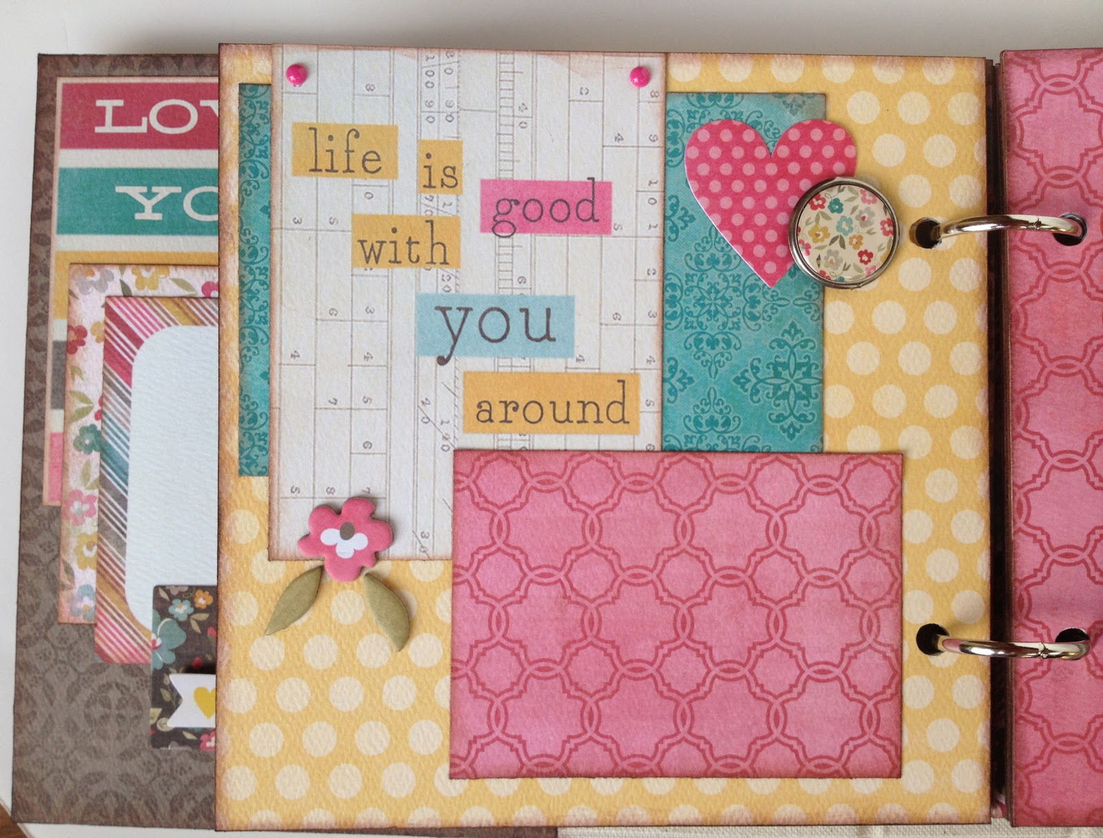 Artsy albums mini album and page layout kits and custom designed purchase this mothers day mini album here solutioingenieria Choice Image