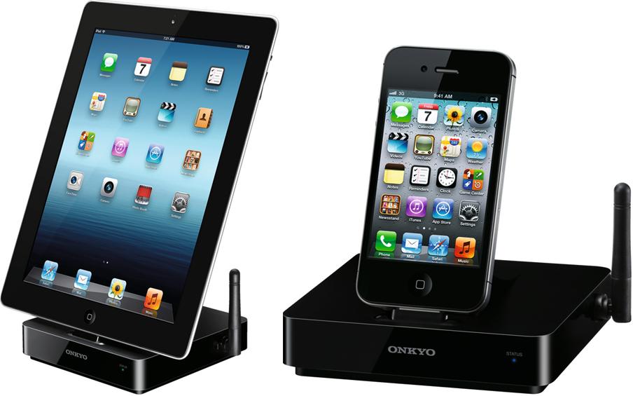onkyo ds a5 station d 39 accueil pour ipod iphone ipad ri airplay sans fil connecteur iphone 5. Black Bedroom Furniture Sets. Home Design Ideas