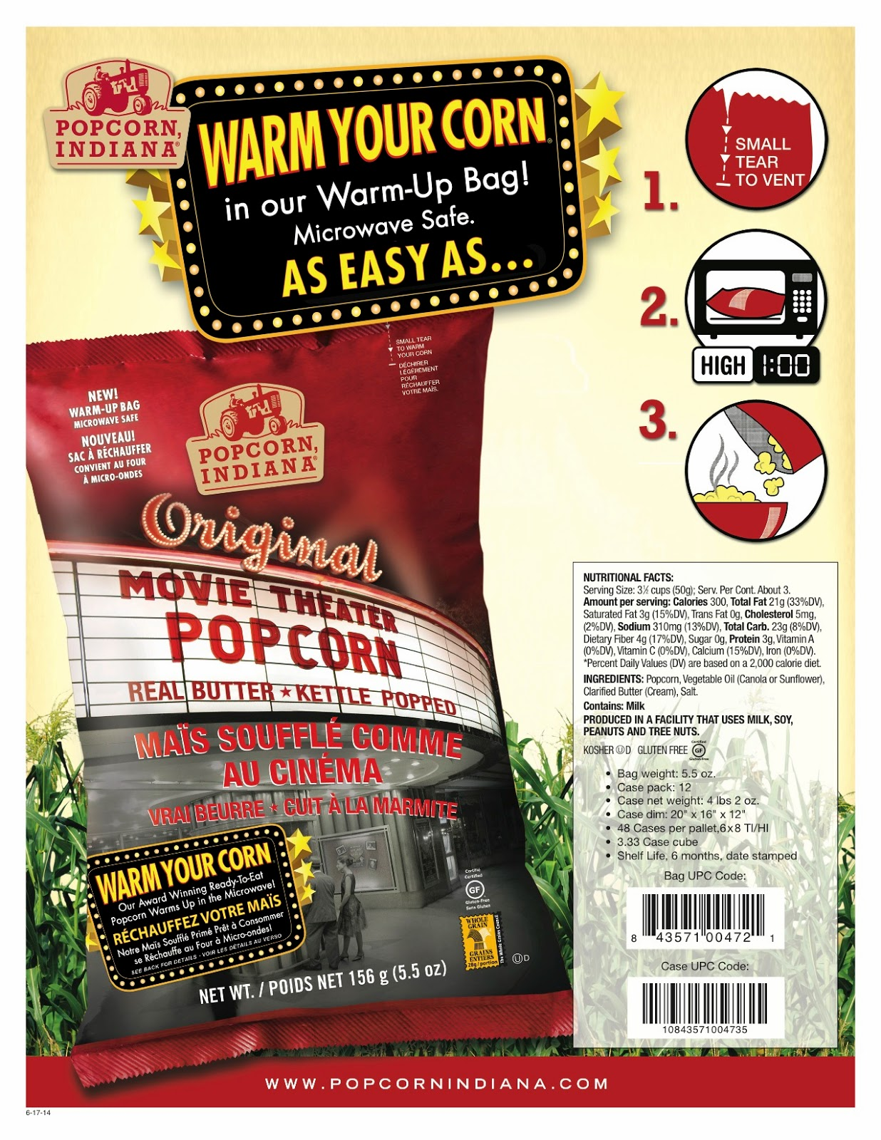Movie popcorn oil from indiana