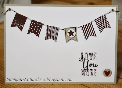 Stampin up Love you more