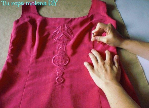 Pinchamos el vestido