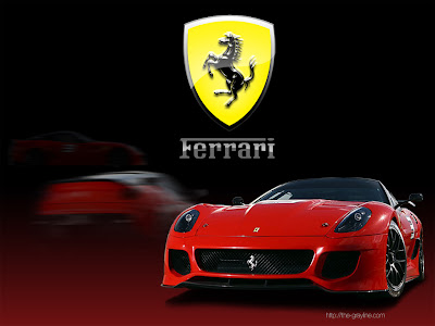 Ferrari Car Wallpapers and Logos in Full HD Inside and Outside