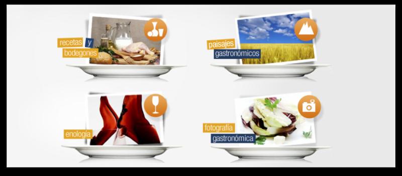 Categorias del II Concurso Fotográfico de Gastronomía con Guia Repsol - VelocidadCuchara.com