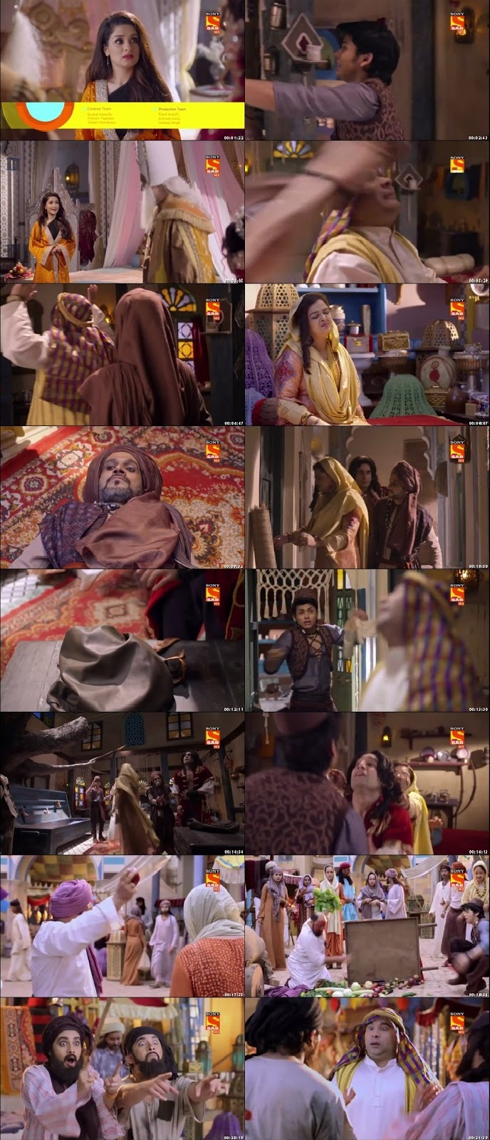 Screenshots Of Hindi Show Aladdin – Naam Toh Suna Hoga 2018 Episode 21 300MB 720P HD